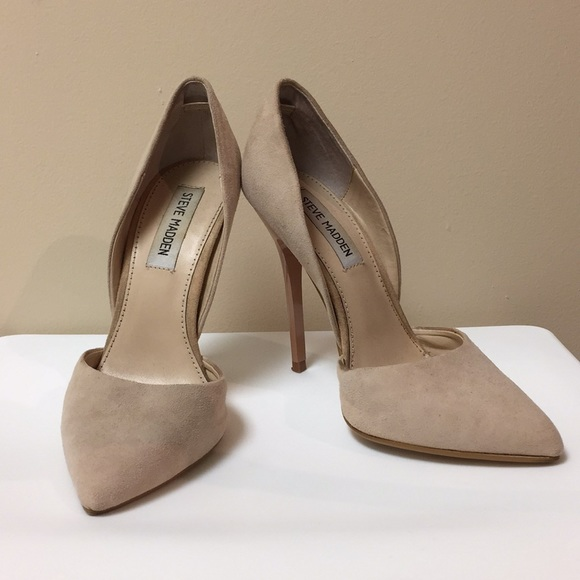 Steve Madden Shoes   Nude Suede